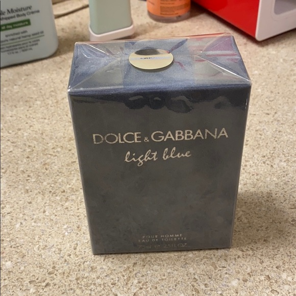 Other - Dolce and gabbana light blue pour homme